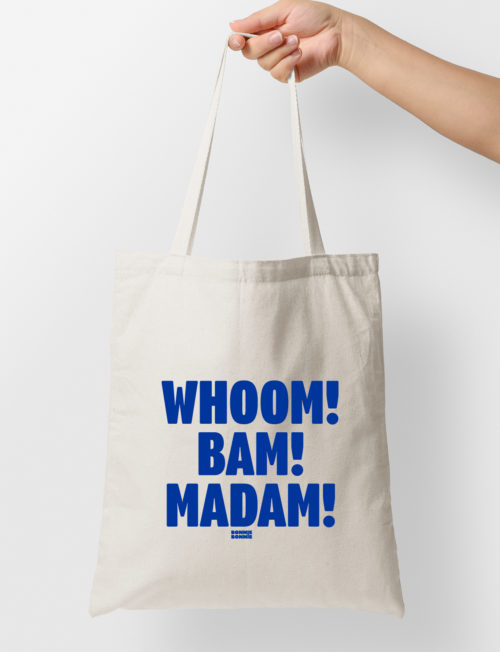 Tote bag 'Whoom! Bam! Madam!'<br>X Eva Daeleman