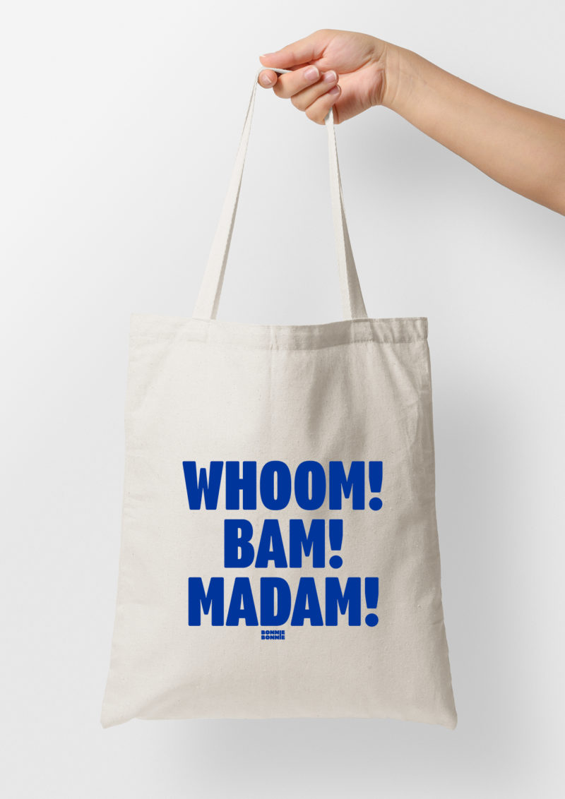 Tote bag Whoom Bam Madam Limited Edition
