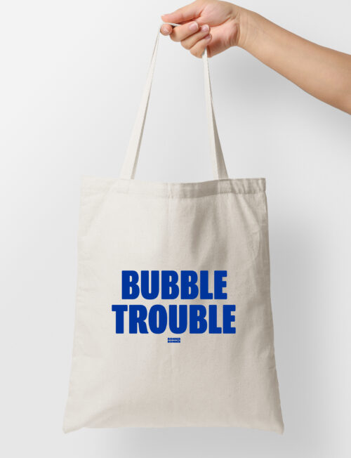 Tote bag 'Bubble Trouble'